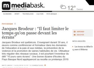 https://mediabask.naiz.eus/fr/info_mbsk/20190314/jacques-brodeur-il-faut-limiter-le-temps-qu-on-passe-devant-les-ecrans